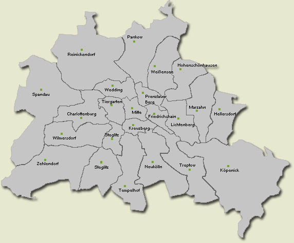 Districts of Berlin